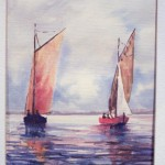 Franz Two Sailboats