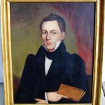 Unsigned Oil Portrait ca 1830 (1)