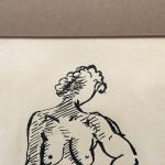 Reginald Marsh Original Pen and Ink