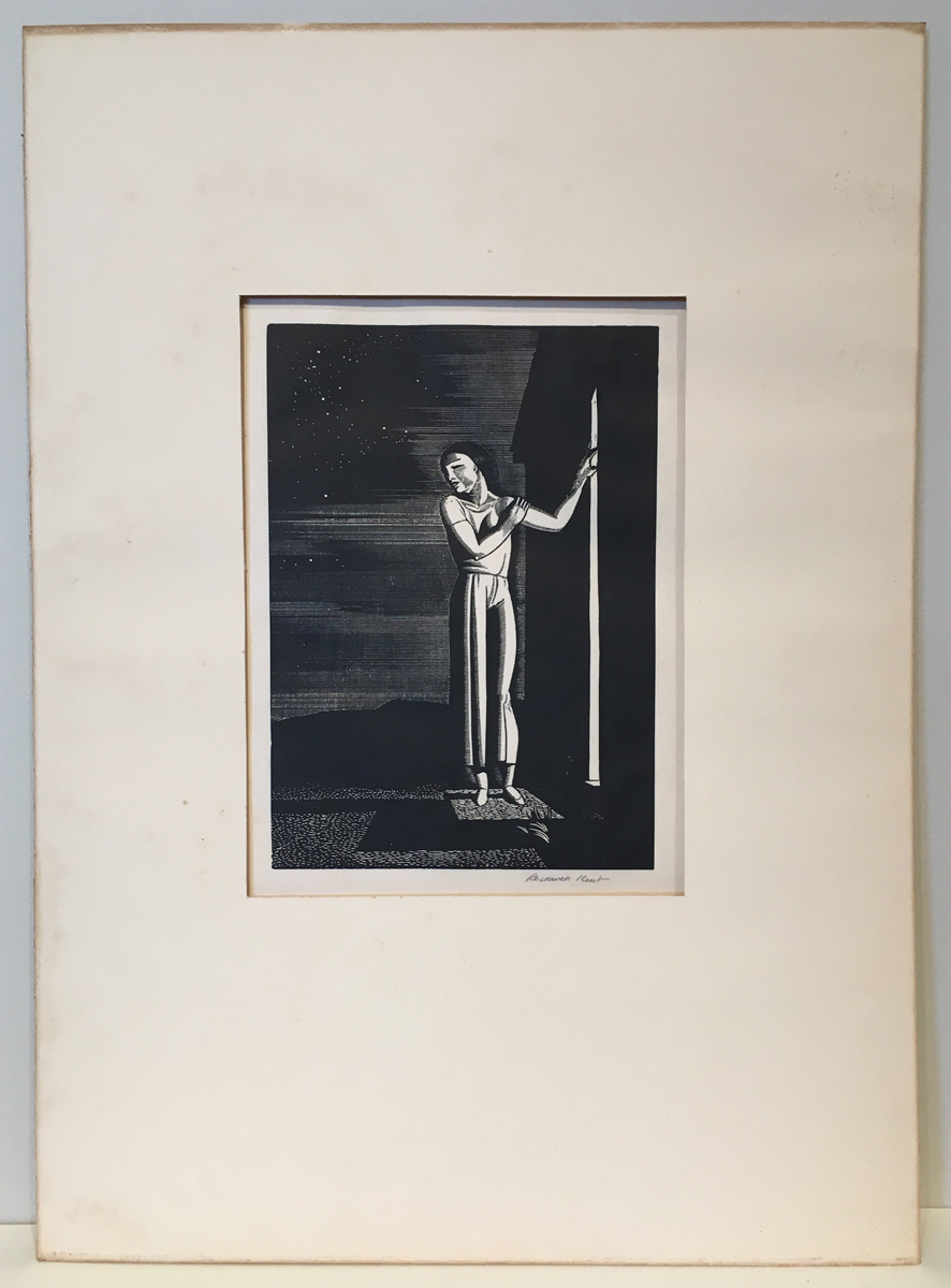 Sold Price: ROCKWELL KENT Girl on a Cliff. - March 4, 0120