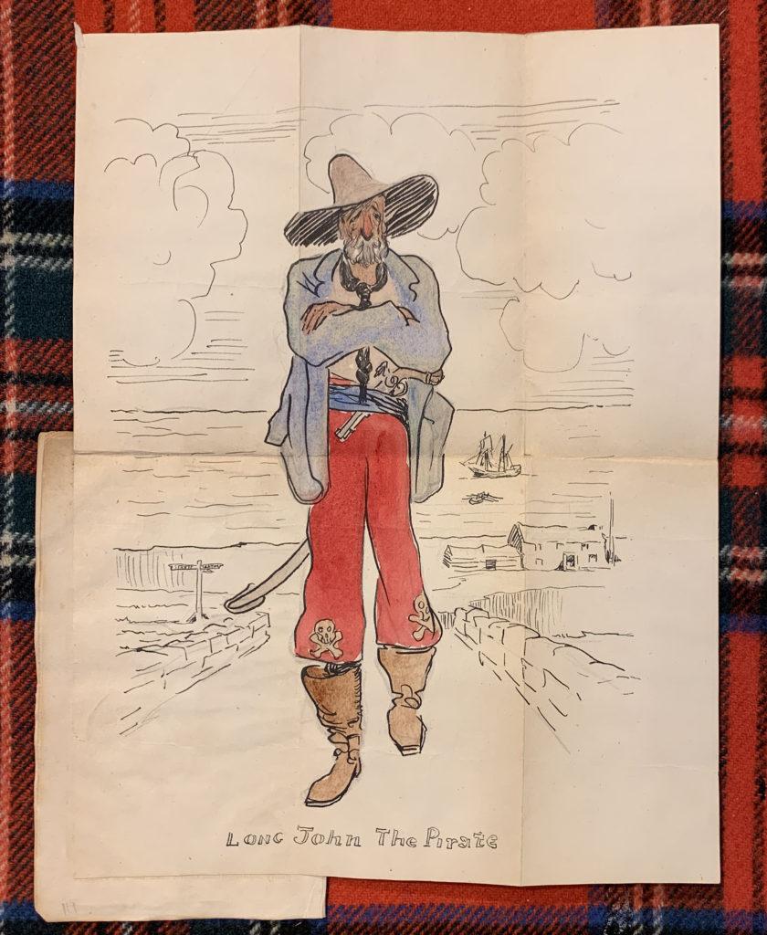Jack Butler Yeats sketch